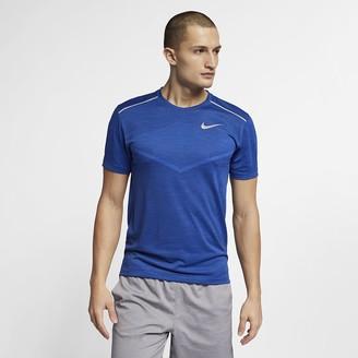 Nike Men's Short-Sleeve Running Top TechKnit Ultra