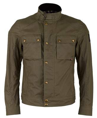 Belstaff Race Master Short Waxed Nylon Jacket