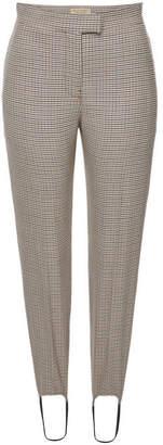 Burberry Printed Wool Pants