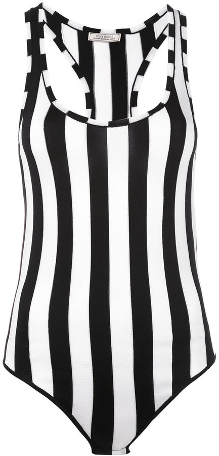 Nina Ricci Nina Ricci striped bodysuit