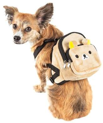 PETKIT Teddy Tails Dual-Pocketed Dog Harness Backpack - Small
