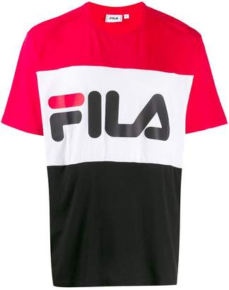 Fila Day colour-block T-shirt