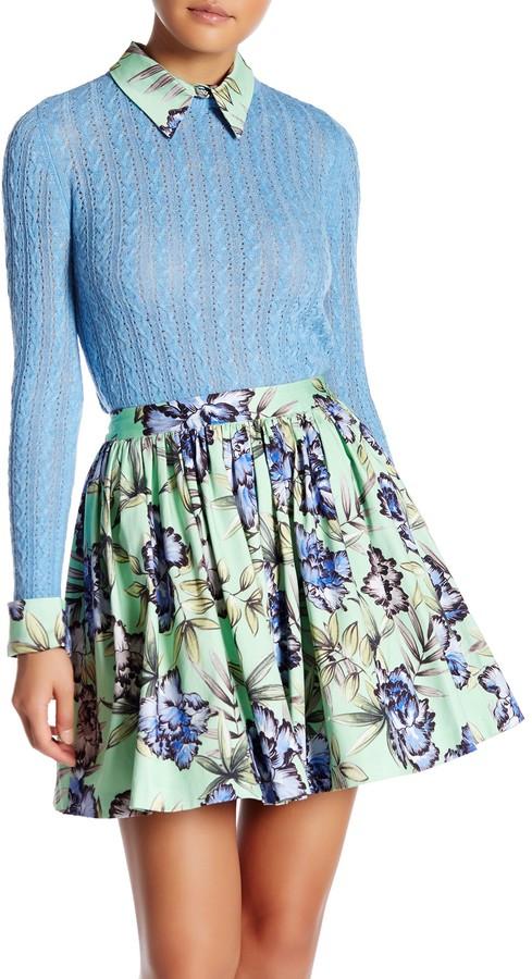 alice + olivia Nadie Slim Sweater Shirt 2