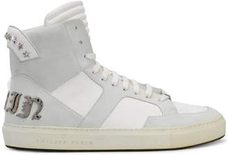 Philipp Plein star studded hi-tops