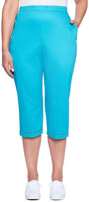 Alfred Dunner Scottsdale High Waisted Capris
