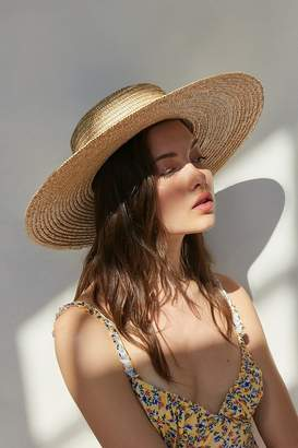 Urban Outfitters Large Straw Boater Hat