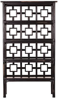 David Francis Furniture Sobe Étagà ̈re - Distressed Black