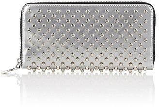 Christian Louboutin Women's Panettone Zip-Around Wallet $650 thestylecure.com