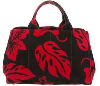Prada Floral Tote Bag Red Floral Tote Bag