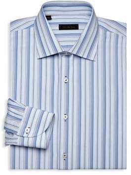 Saks Fifth Avenue COLLECTION Multi-Stripe Dress Shirt