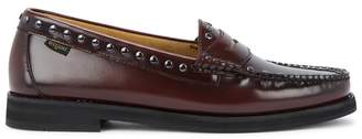 Bass Weejuns Winter Studded Leather Loafers