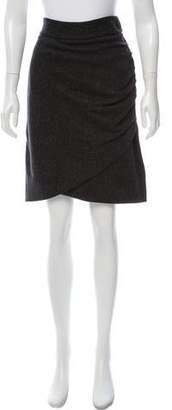 Robert Rodriguez Ruched Pencil Skirt