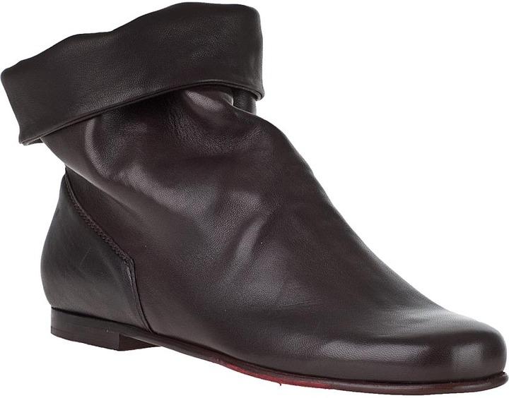 Robert Zur Keli Ankle Boots Black Leather