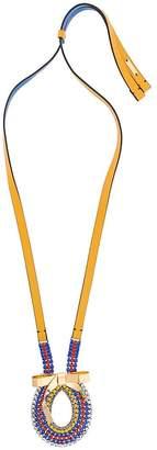 Marni bow pendant necklace