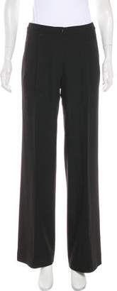 Intermix Mid-Rise Wide-Leg Pants