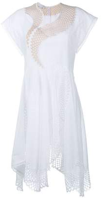 Stella McCartney Asymmetric Mesh Dress