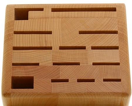 Zwilling J.A. Henckels Wood Block - Deluxe 22 Slot Knife Block