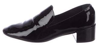Mercedes Benz Castillo Patent Leather Round-Toe Loafers