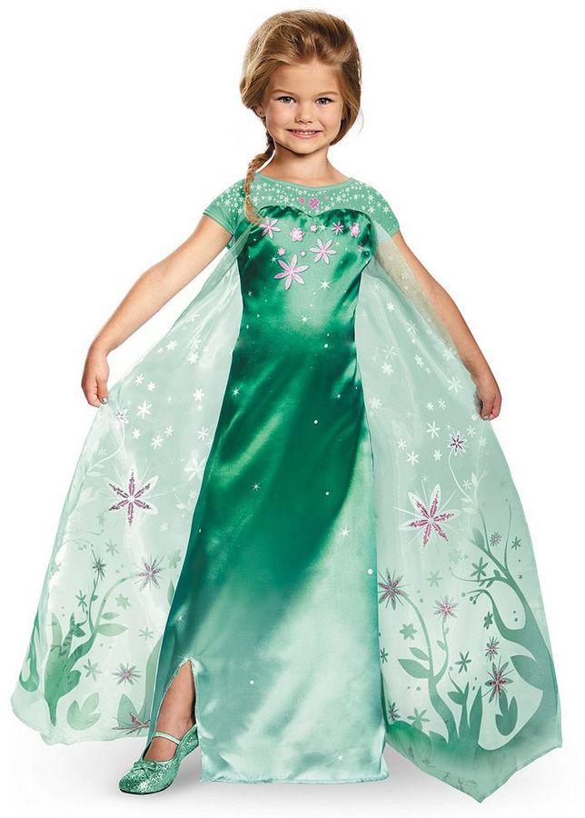 DisneyDisney's Frozen Fever Elsa Costume - Kids