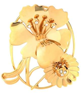 J.W.Anderson Floral Daisy crystal-embellished earpiece