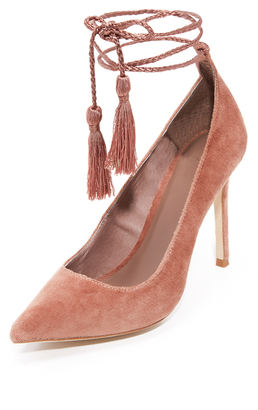 Joie Angelynn Ankle Wrap Pumps $268 thestylecure.com