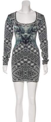 Herve Leger Melissa Bodycon Mini Dress