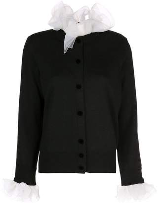 Marc Jacobs long-sleeve ruffle cardigan