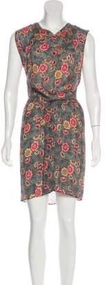 Etoile Isabel Marant Silk Blend Midi Dress