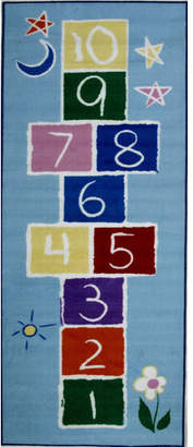Fun Rugs Fun Time Primary Hopscotch Area Rug Rug