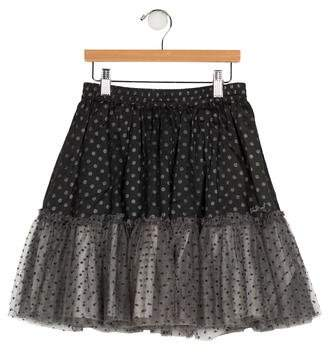 Jean Bourget Girls' Printed A-Line Skirt