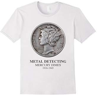 Metal Detecting Mercury Dimes Shirt