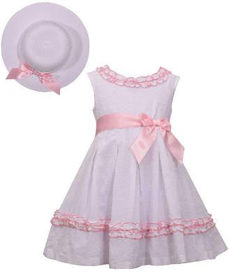Bonnie Jean Sleeveless Dress Set - Toddler Girls