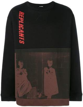 Raf Simons Replicants sweatshirt