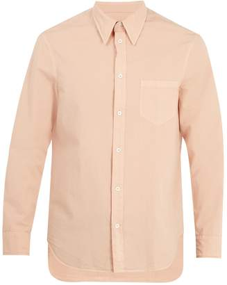 Maison Margiela Point-collar cotton shirt