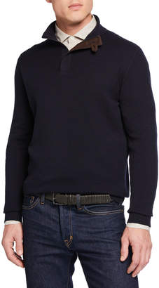 Ermenegildo Zegna Men's High Performance Zip Sweater