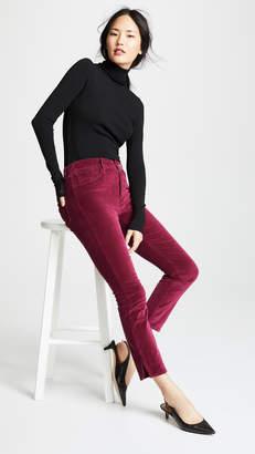 3x1 W3 Velvet Higher Ground Mini Split Jeans