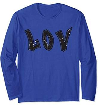 Lovers Couple Long Sleeved Shirt