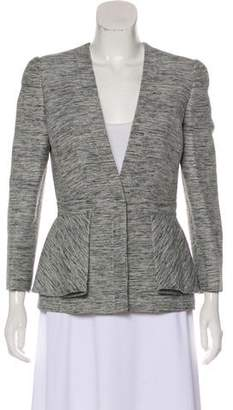 Alexander McQueen Structured Collarless Blazer w/ Tags