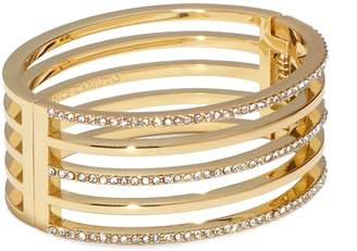 Vince Camuto Goldtone Jeweled Cutout Cuff