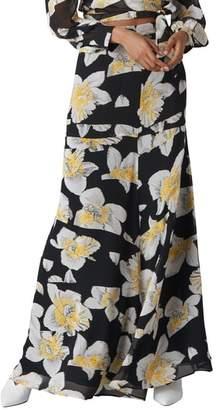 Whistles Rika Floral Silk Maxi Skirt