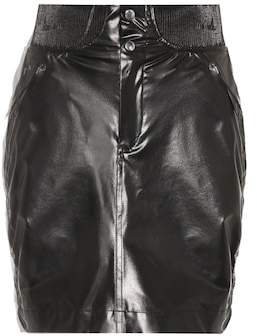 Isabel Marant Faux leather miniskirt