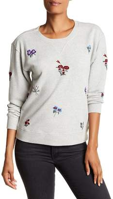 Joie Rikke B Floral Embroidered Pullover $228 thestylecure.com