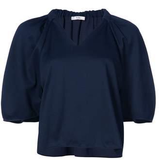 Tibi Marsha knitted V-neck top