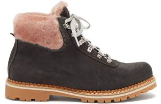 Montelliana - Sequoia Suede Boots - Womens - Grey Multi