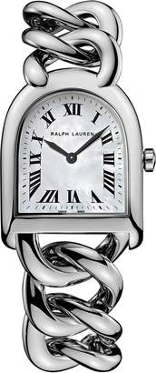 Ralph Lauren Petite-Link Steel MOP Dial