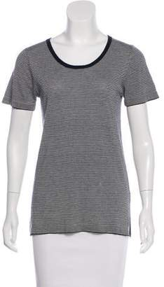 Jenni Kayne Cashmere-Blend Short Sleeve Top