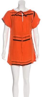 Ace&Jig Short Sleeve Mini Dress