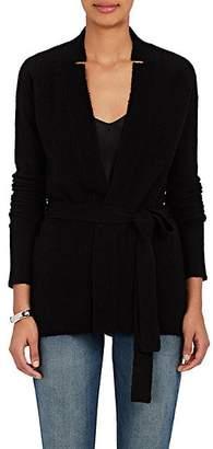 ATM Anthony Thomas Melillo Women's Wool-Blend Wrap Cardigan - Black