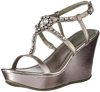 Kenneth Cole Reaction Womens Sole Bling Espadrille Wedge Sandal