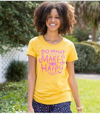 Natural Life Perfect Tee Do What Makes You Happy